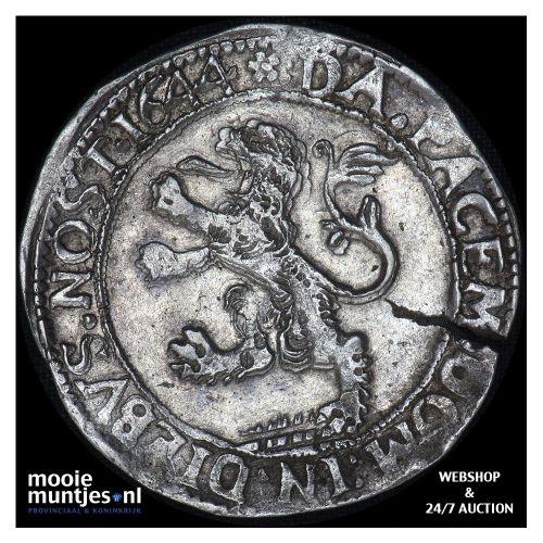 Zwolle - Leeuwendaalder - 1644 (kant A)