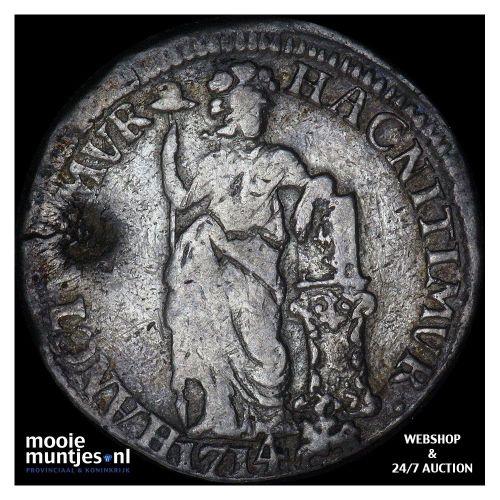 Gelderland - Gulden - 1714 (kant A)