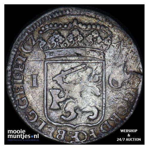 Gelderland - Gulden - 1714 (kant B)