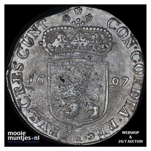 Zeeland - Zilveren dukaat - 1697 (kant A)