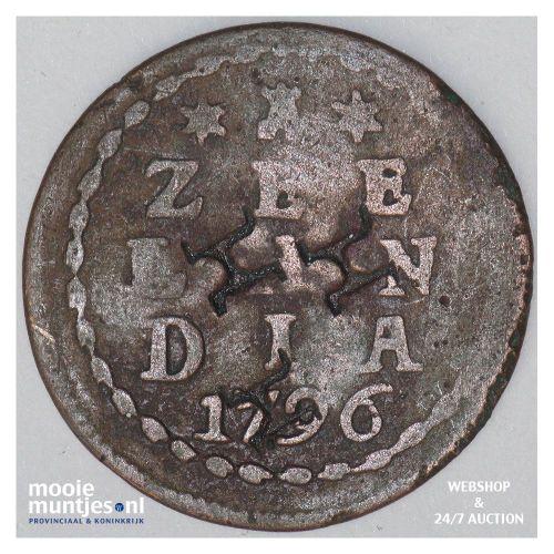 Zeeland - Duit - 1796 (kant A)
