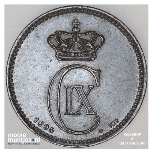 5 ore - Denmark 1894 (KM 794.2) (kant A)
