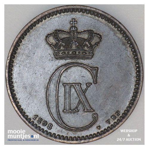 5 ore - Denmark 1898 (KM 794.2) (kant A)