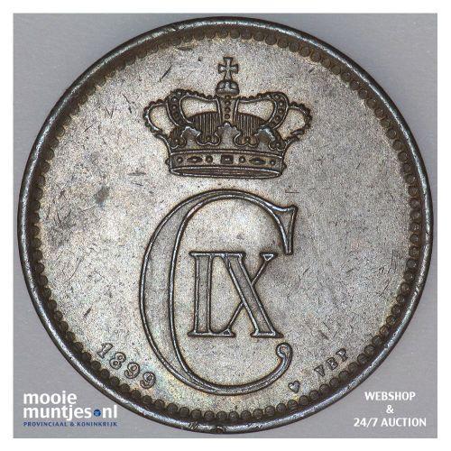 5 ore - Denmark 1899 (KM 794.2) (kant A)