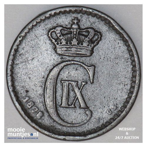 ore - Denmark 1878 (KM 792.1) (kant A)