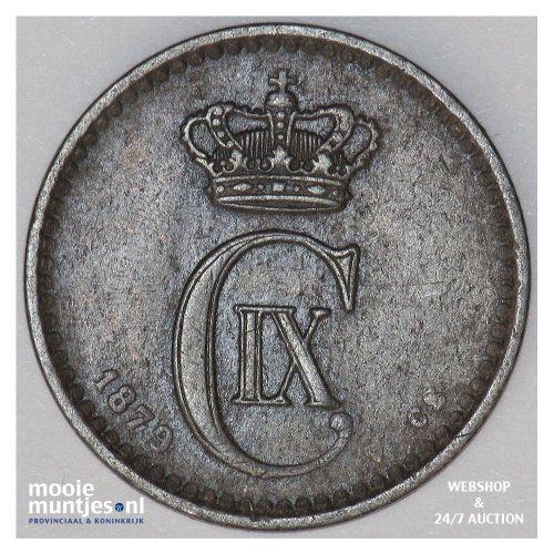 ore - Denmark 1879 (KM 792.1) (kant A)