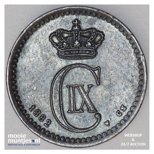 ore - Denmark 1882 (KM 792.1) (kant A)