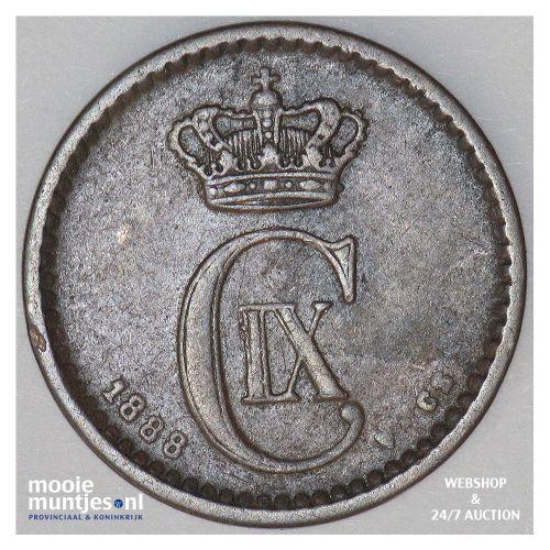ore - Denmark 1888 (KM 792.1) (kant A)