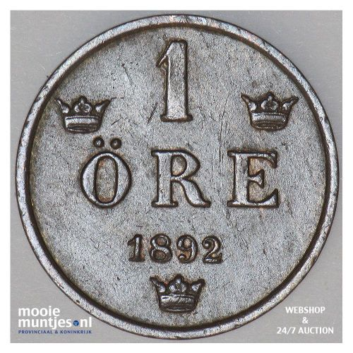 ore - Sweden 1892 (KM 750) (kant A)