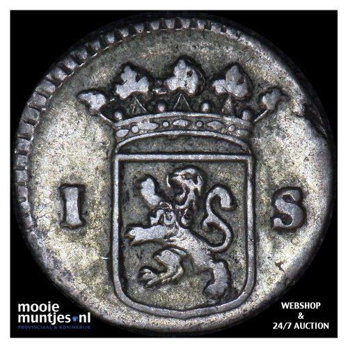Holland - Wapenstuiver - 1734 over 33 (kant B)
