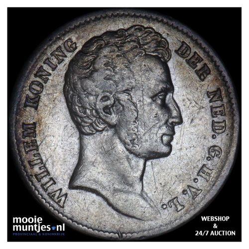 Nederlands-Indië - ½ gulden - 1834 (kant B)