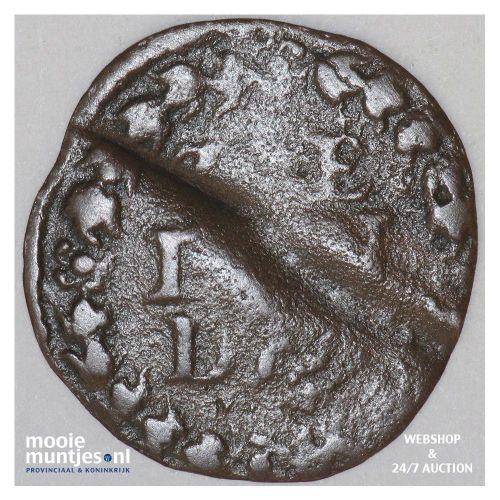 Zeeland - Duit - 1657 (kant B)