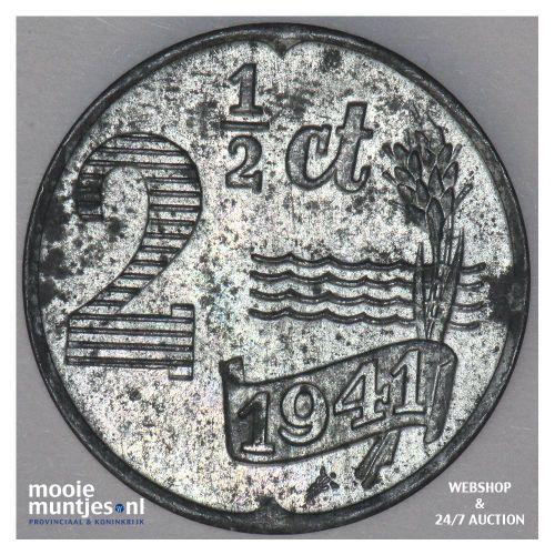 2½ cent - Wilhelmina - 1941 (kant A)