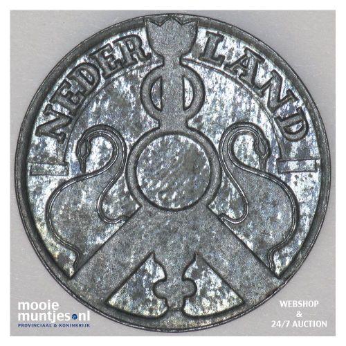 2½ cent - Wilhelmina - 1941 (kant B)
