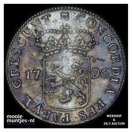 Utrecht - Zilveren dukaat - 1796 (kant A)