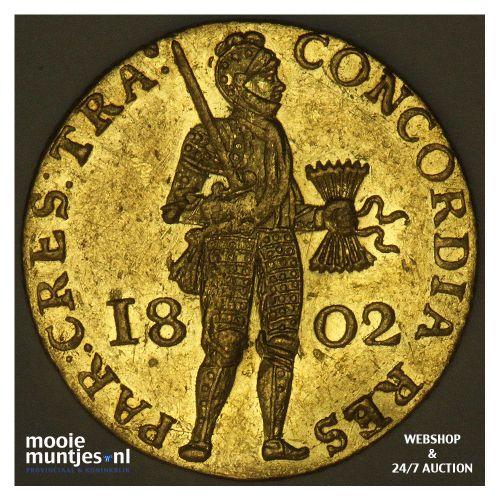 Utrecht - Gouden dukaat - 1802 (kant A)
