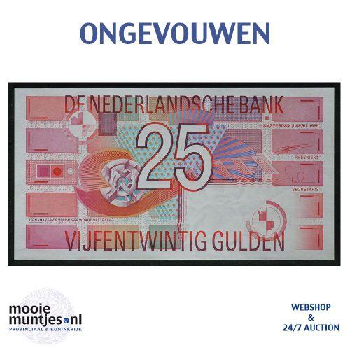 25 gulden - 1989 (Mev. 85-1 / AV 57) (kant A)