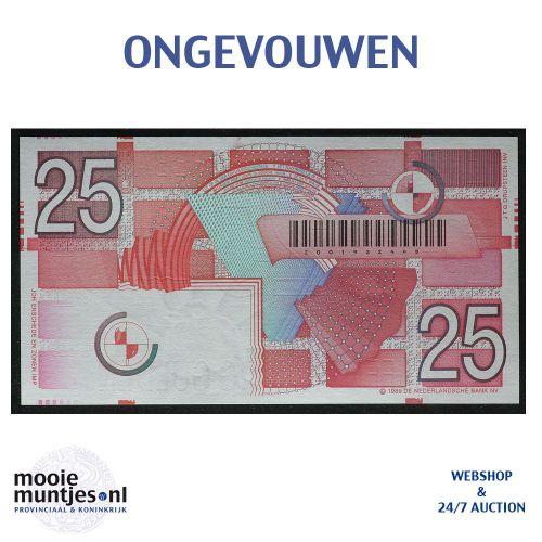 25 gulden - 1989 (Mev. 85-1 / AV 57) (kant B)