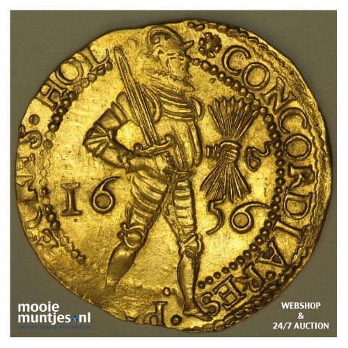 Holland - Dubbele gouden dukaat - 1656 (kant A)