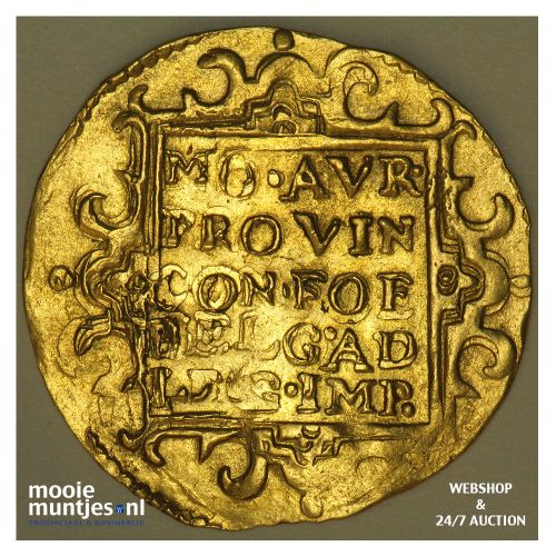 Holland - Dubbele gouden dukaat - 1656 (kant B)