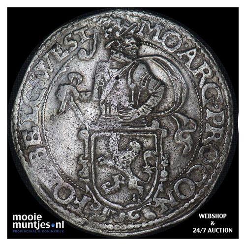 West-Friesland - Leeuwendaalder - 1651 (kant B)