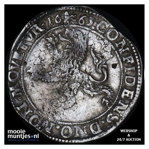 Deventer - Leeuwendaalder - 1663 (kant A)