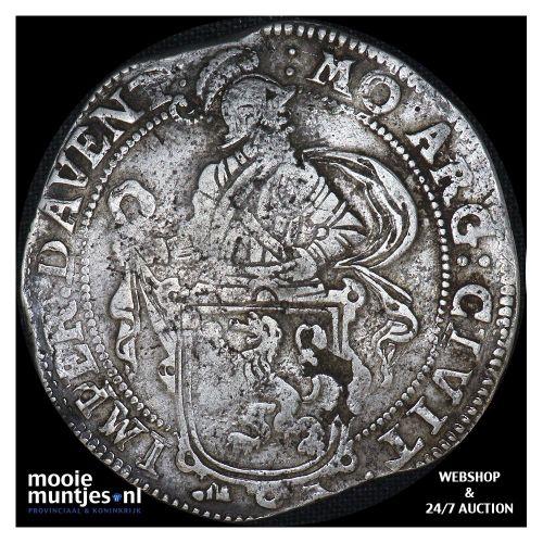 Deventer - Leeuwendaalder - 1663 (kant B)