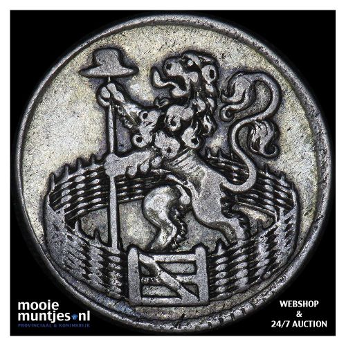 Holland - Duit - 1702 (kant B)
