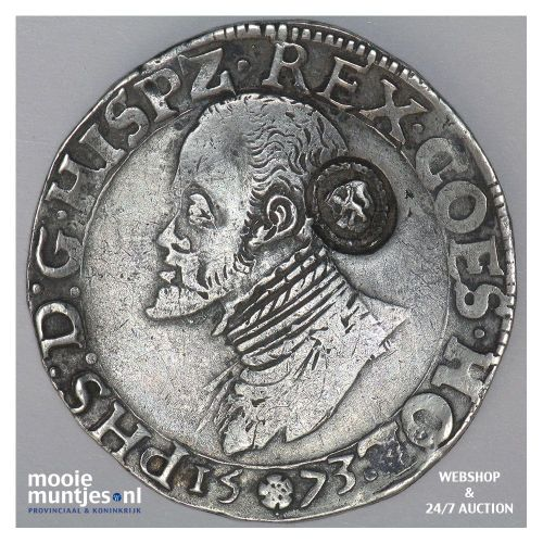 Holland - Halve Philipsdaalder - 1573 (kant A)