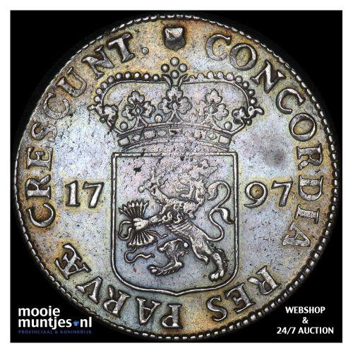 Utrecht - Zilveren dukaat - 1797 (kant A)