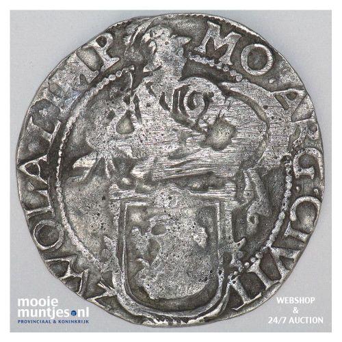 Zwolle - Halve stedelijke leeuwendaalder - 1648 (kant B)