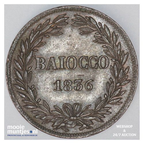 baiocco - Italian States/Papal States 1836 VIR (KM 1320) (kant A)