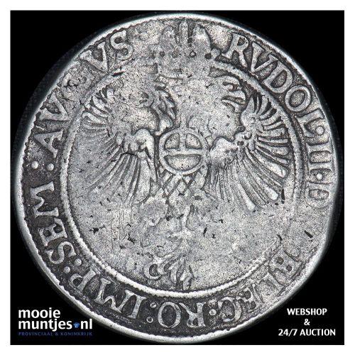 Kampen - Halve arendsrijksdaalder - 1598 (kant B)