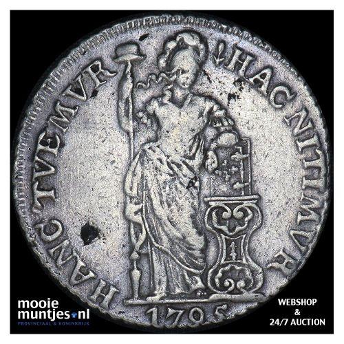 Gelderland - 3 gulden - 1795 (kant A)