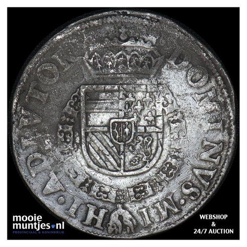 Utrecht - Bourgondische kruisdaalder - 1568 (kant B)
