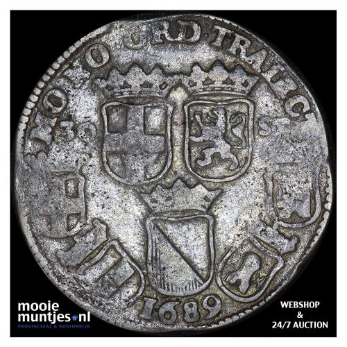 Holland - Gouden dukaat - 1777 (kant A)