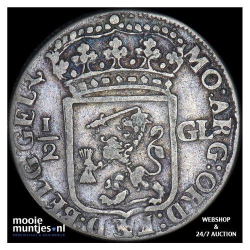 Gelderland - Halve gulden - 1694 (kant B)
