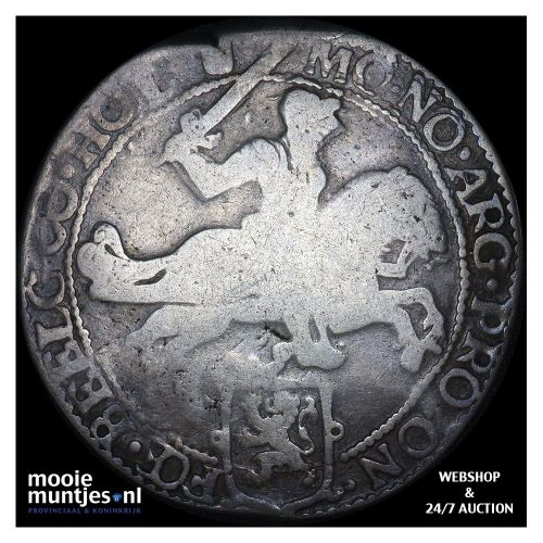 Holland - Zilveren rijder of dukaton - 1660 (kant B)