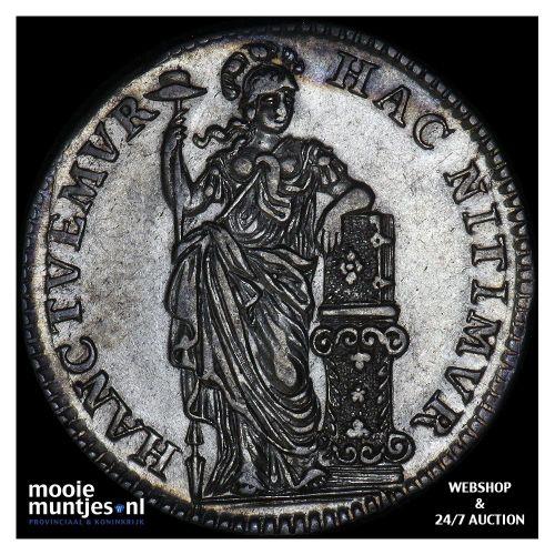 Holland - Halve gulden - 1748 ongerand (kant B)