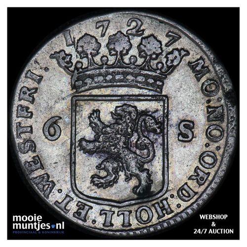Holland - Scheepjesschelling - 1724 (kant A)