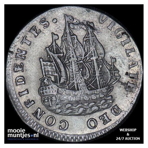 Holland - Scheepjesschelling - 1724 (kant B)