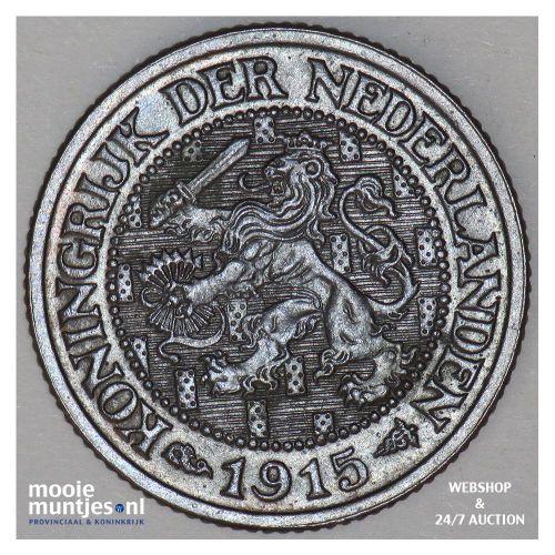 1 cent - Wilhelmina - 1901 K (kant A)