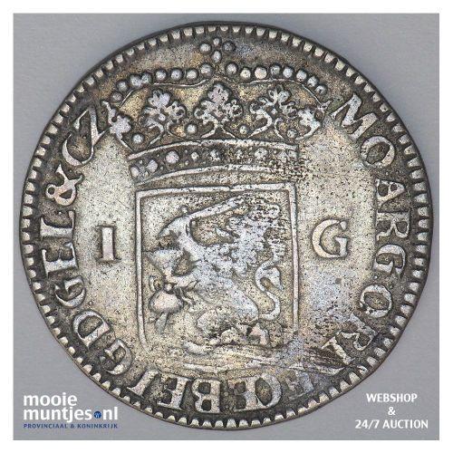 Gelderland - Gulden - 1764 (kant B)