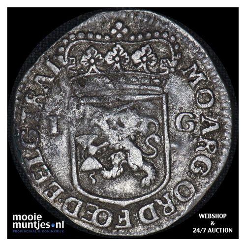 Utrecht - Gulden - 1765 (kant B)