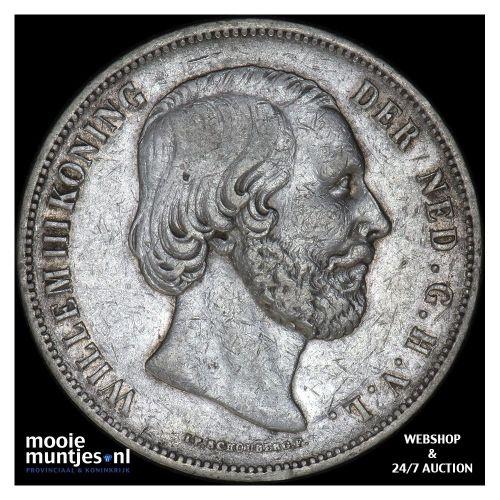 2½ gulden - Willem III - 1850 (kant B)