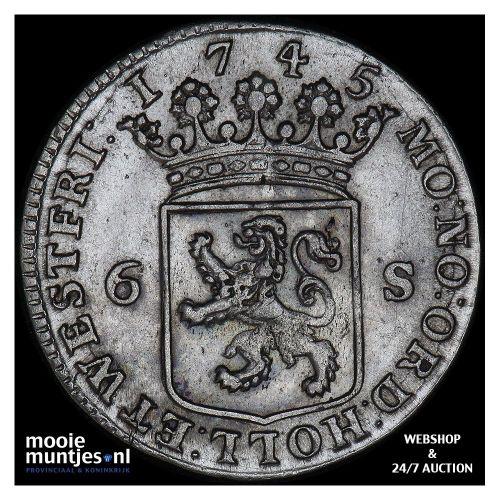 Holland - Scheepjesschelling - 1708 (kant A)