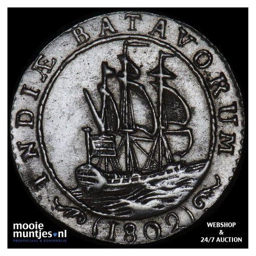 Nederlands-Indië - 1/16 gulden - 1802 (kant A)