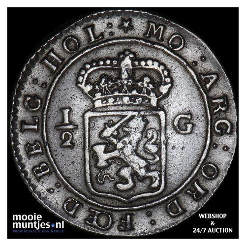 Nederlands-Indië - 1/16 gulden - 1802 (kant B)