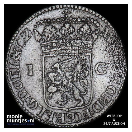 Gelderland - Pijl- of bezemstuiver - 1785 (kant B)