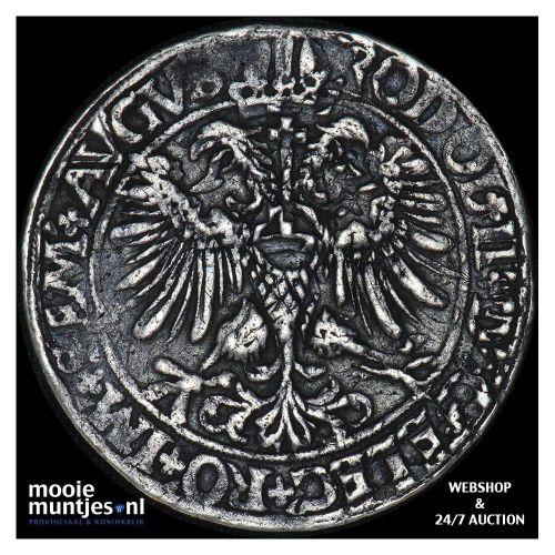 Driesteden - Halve gehelmde rijksdaalder   - 1583 (kant B)